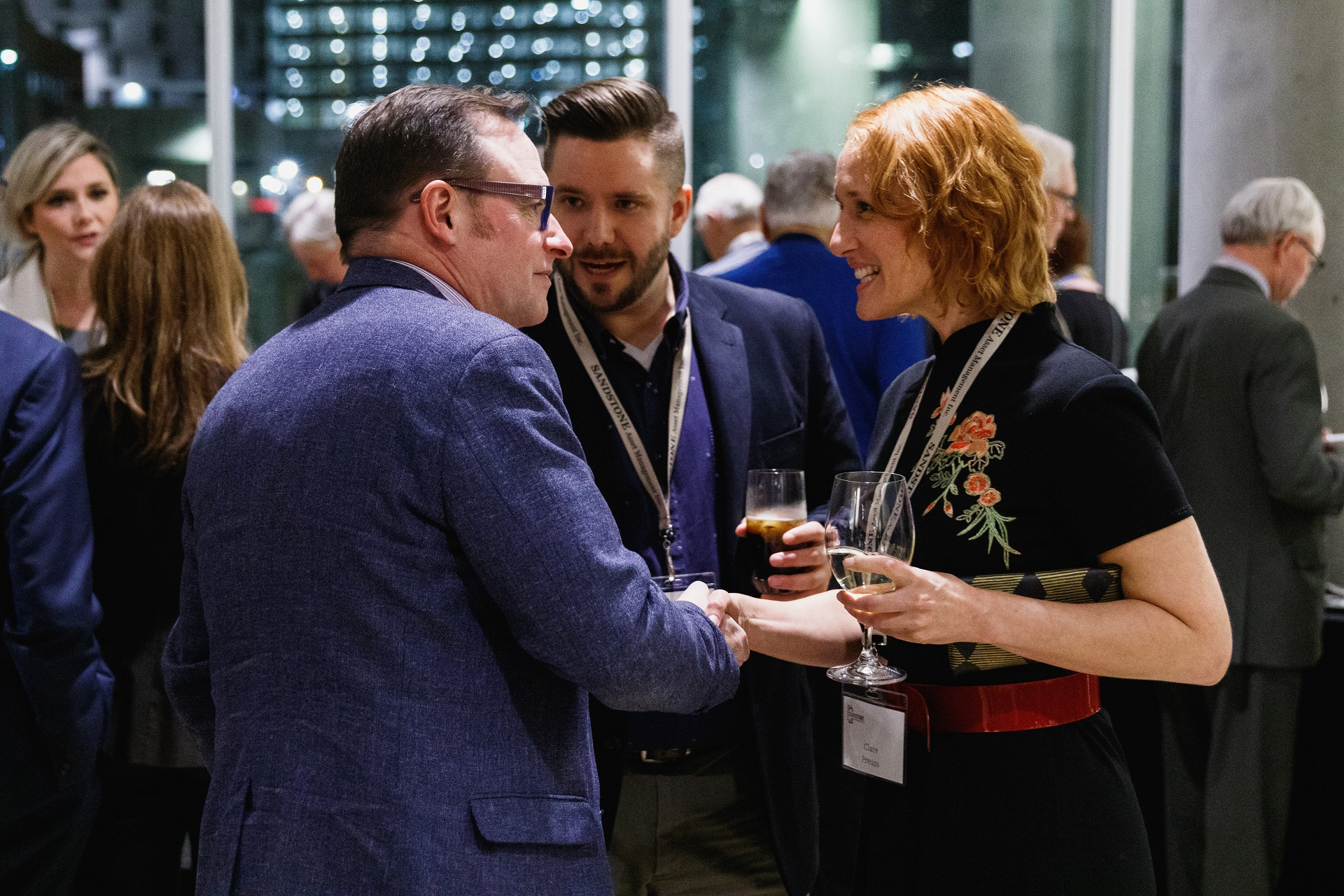Guests making connections at OUTLOOK 2019