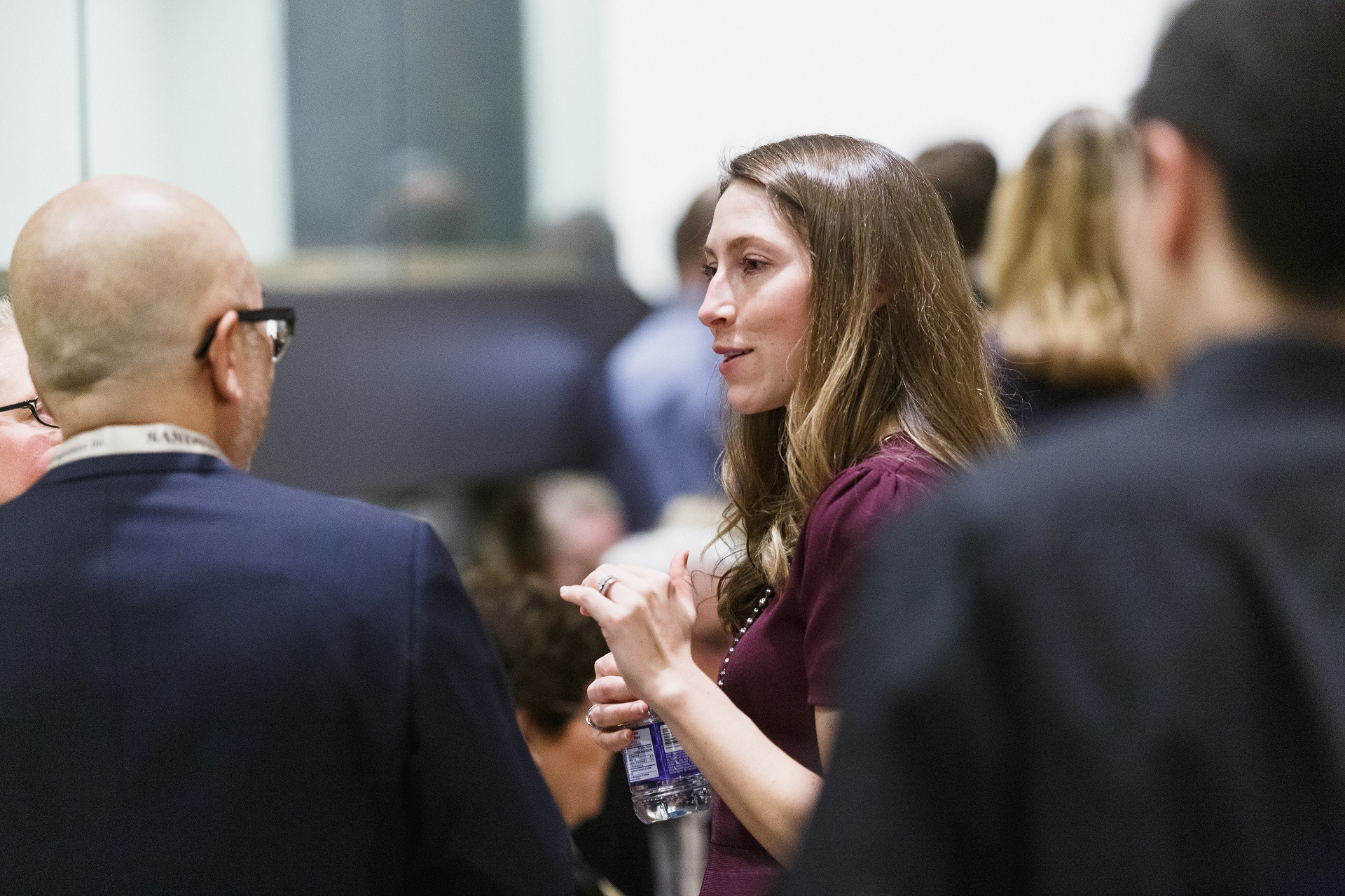 Portfolio Manager, Niki Dunne talks with guests